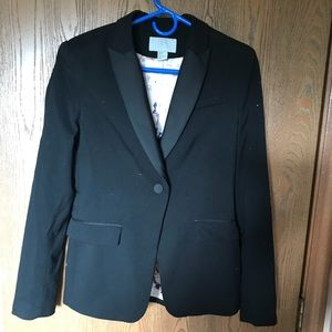 Black blazer with silk lining